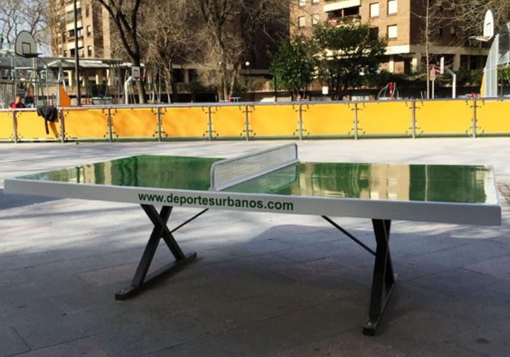 Mesa ping pong exterior Forte en parque público
