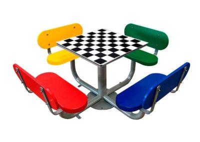 Juego de mesa ajedrez exterior