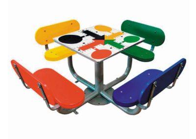 Juego de mesa parchís exterior