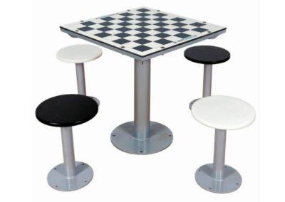 Mesa ajedrez exterior para colegios e institutos