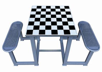 Mesa juego ajedrez exterior forte