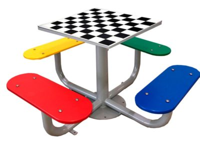 Juego de ajedrez para patios de colegio