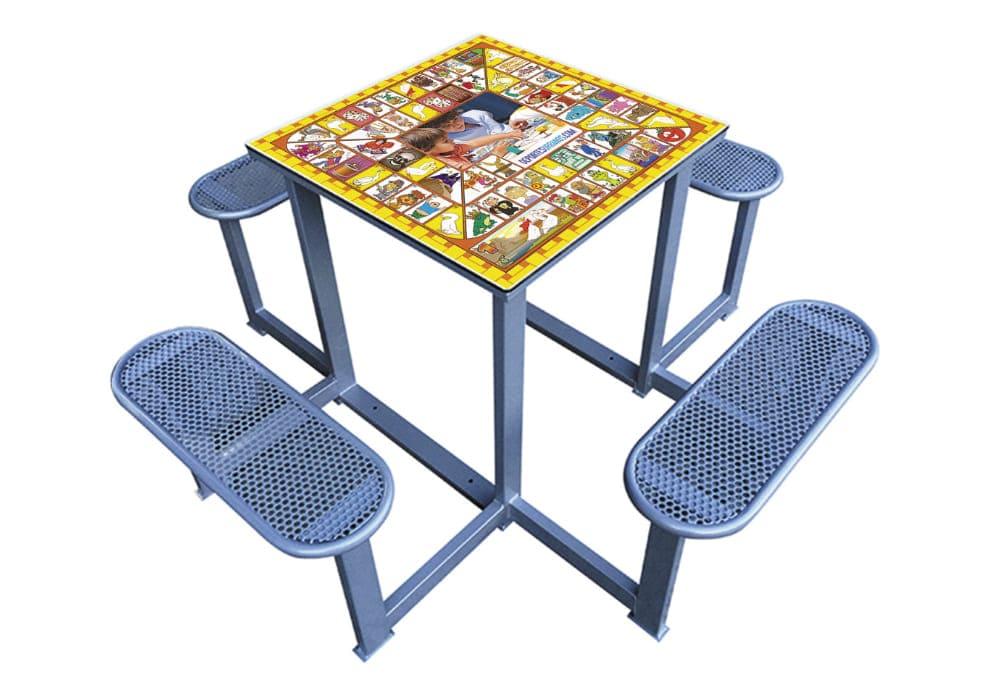 Mesa de juegos La Oca antivandálica Forte