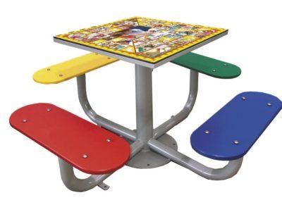 mesa de juego La Oca para patios de colegio