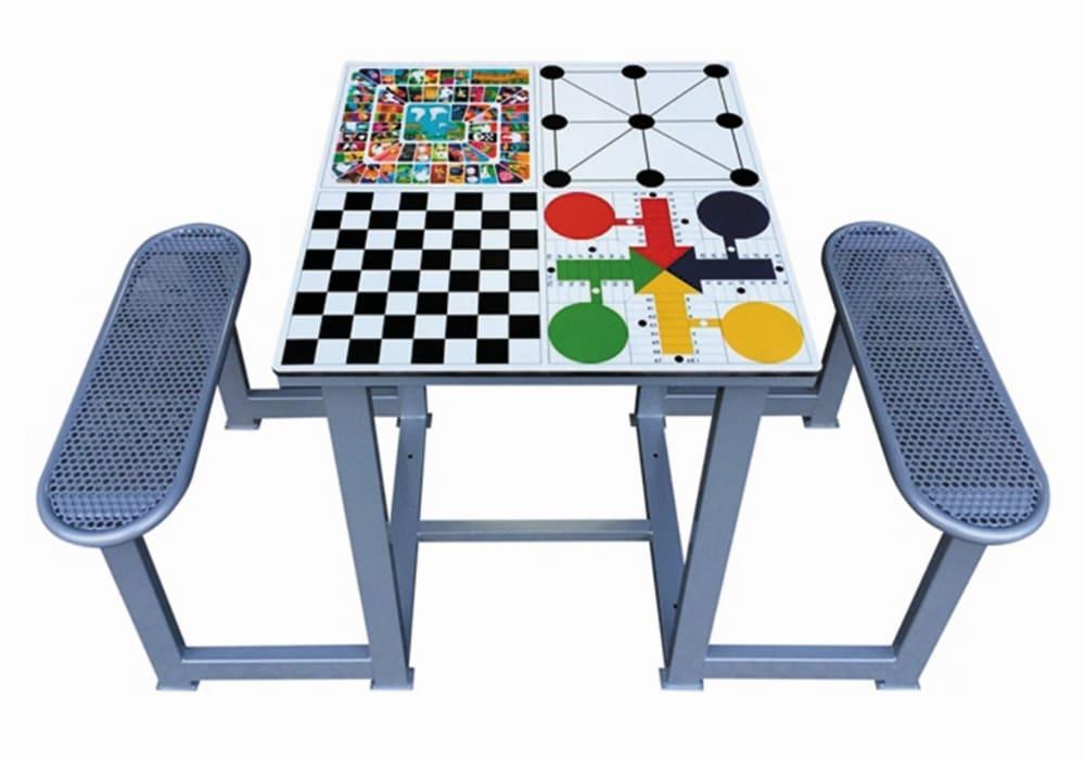 Mesa de juegos 4 en 1 exterior