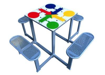 Juegos de mesa antivandálicos: Parchís
