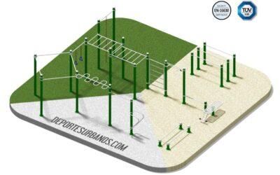 Parques de Calistenia completos con Certificado de Calidad TÜV