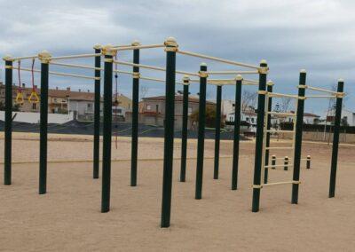Instalación Circuito Calistenia Workout 146