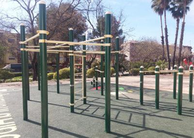Circuito Calistenia 157 en parque