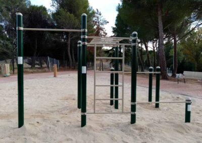 Instalación Calistenia en Parque Deportivo
