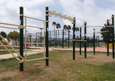Instalación Parque Calistenia Estrella