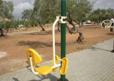 Máquinas para parques Biosaludables: Columpio - Monzón