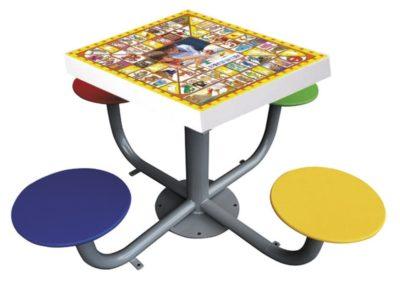 Mesa de juegos personalizable antivandálica