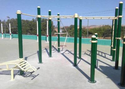 Instalación Parque Calistenia 133