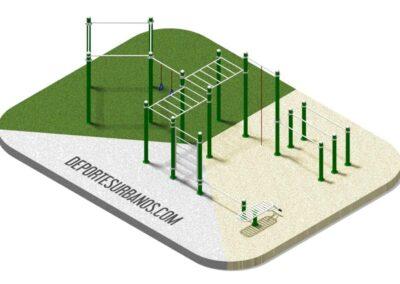 Calisthenics Workout Park 166