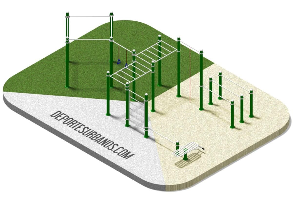 Parque Workout Calistenia 166