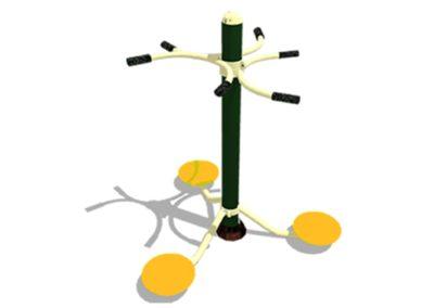 Aparato Biosaludable La Cintura – Alisio Triple