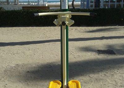 Instalación del aparato biosaludable Surf - Tifón