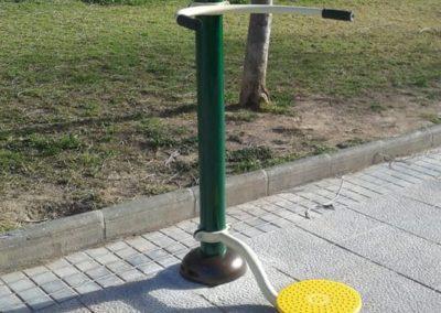 Instalación de Máquina Ejercicio Cintura - Alisio