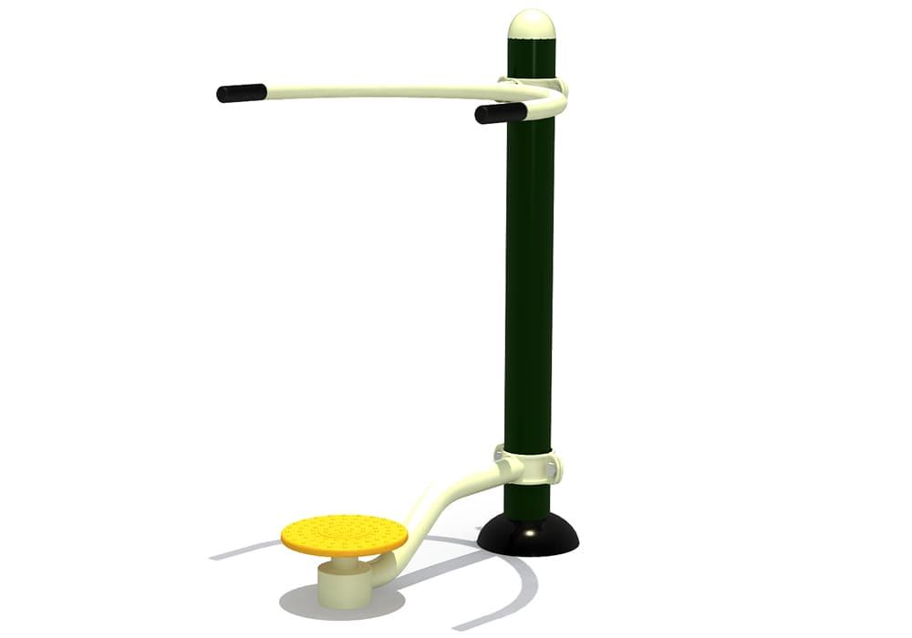 Máquina de Ejercicio para Parques Públicos: Cintura - Alisio