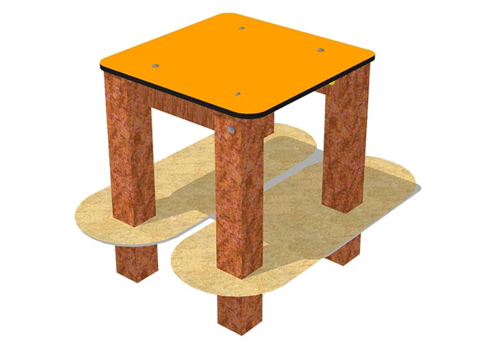 Mesa Agility, obstáculos para circuito canino