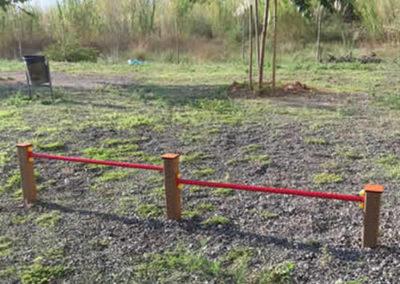 Parque con Vallas Agility para perros