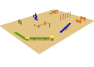 Pista de Agility – Pack 8 obstáculos