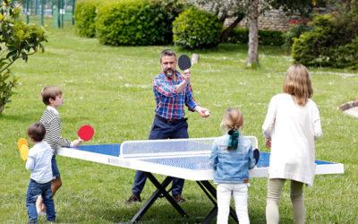 Mesas de ping pong para parques y plazas