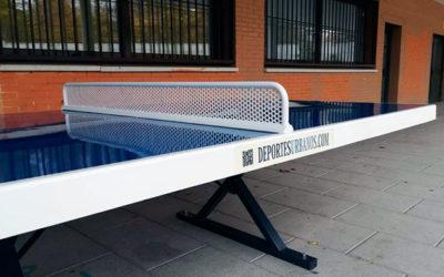 Mesas de ping pong de exterior para colegios e institutos
