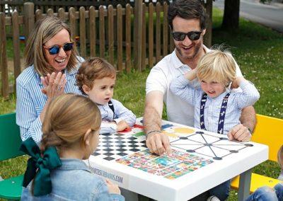 mesas de juegos para casas rurales