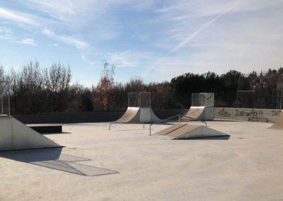 Módulos y Rampas para Pistas de Skate
