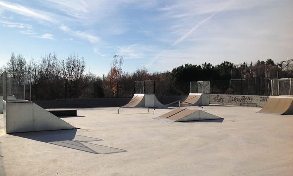 Construcción de pista de skate para ayuntamiento de El Boalo Madrid