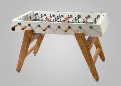 Futbolín para exterior de acero-madera FA03