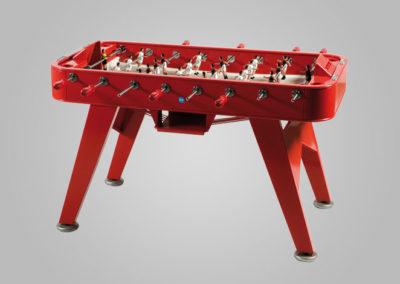 Futbolín antivandálico color rojo