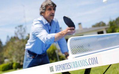 Mesas de ping pong fijas de exterior antivandálicas