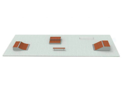 Venta de pistas de Skate modulares: pack n1