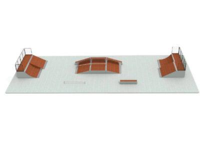 skatepark modular pack n12