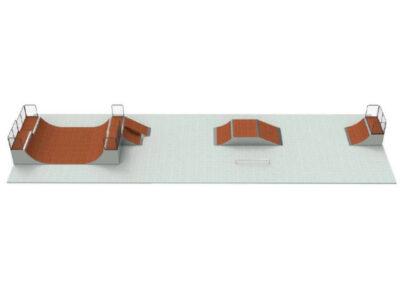 skatepark modular pack n16