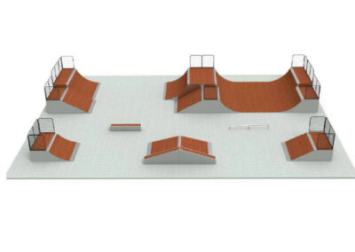 skatepark modular pack n20