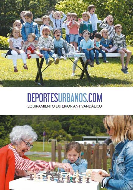 Catálogo de Equipamiento Deportivo Antivandálico de Exterior