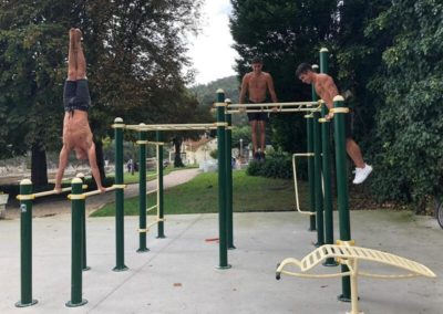 Parque street workout
