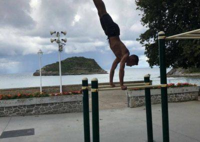 Aparatos de calistenia: Entrenamiento con barras street workout
