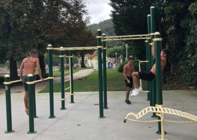 Circuito de street workout