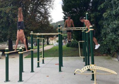 Parc de street workout