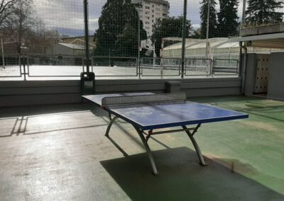 Table ping pong école