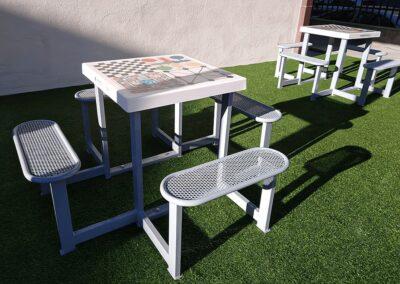 juegos lúdicos y educativos para mobiliario urbano