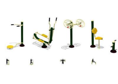 Parcours de santé - Pack de promotion 4D