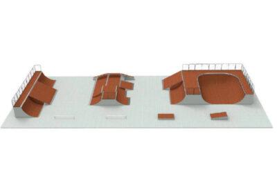 skatepark modular pack n24