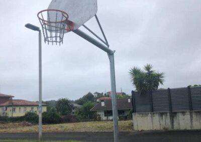 Canasta basket pública