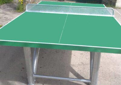 Detalle de la mesa ping pong Sport Pro
